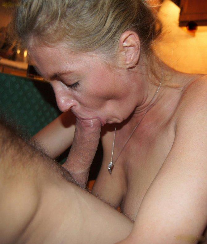 Married Wife Sucks Cock